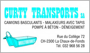 Curty Transports annonce
